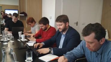 Invento Labs на тренинге Кирилла Линника